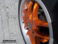 Orange Candy over Silver base and hologram Silver by KustomPaint Rudina © streetkolor.sk,streetkolor.com, StreetBitches Slovakia & KustomPaint Rudina