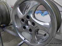 Full Chrome Porsche Wheels by KustomPaint Rudina © streetkolor.sk,streetkolor.com, StreetBitches Slovakia & KustomPaint Rudina