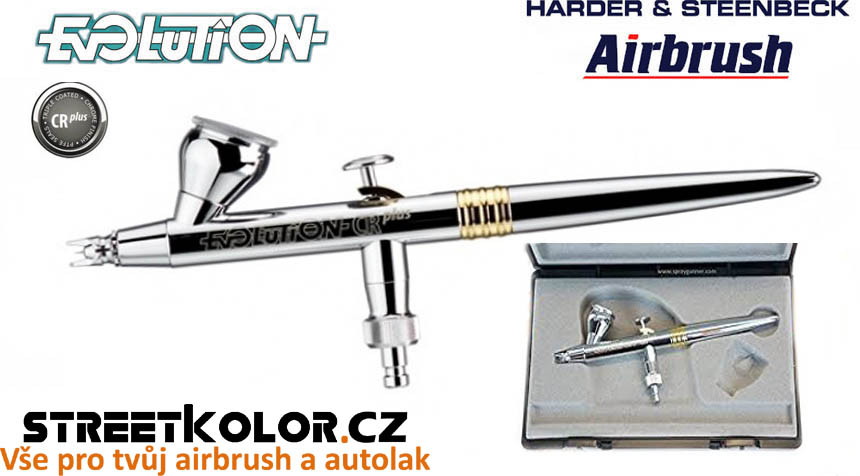 Airbrush stříkací pistole HARDER & STEENBECK Evolution CRplus 0,15mm