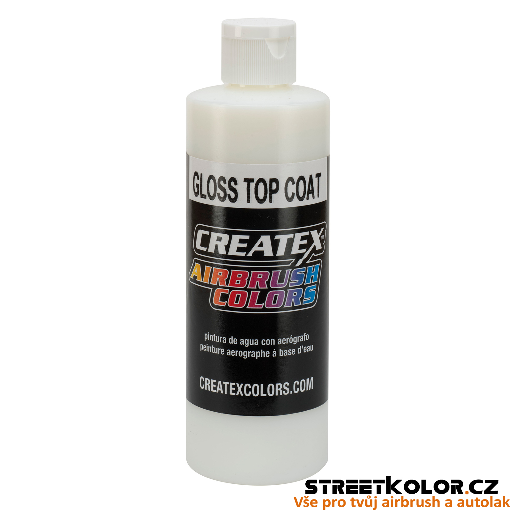CreateX 5604 Lesklý lak - Gloss Top Coat 60ml