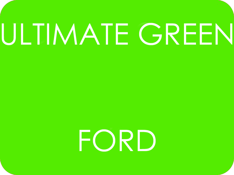 Ford ultimate Green