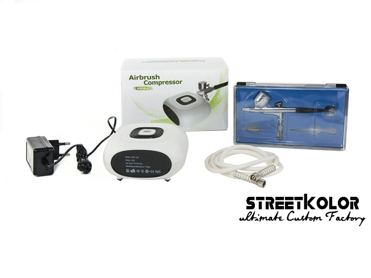 Airbrush set s kompresorem HS08-5