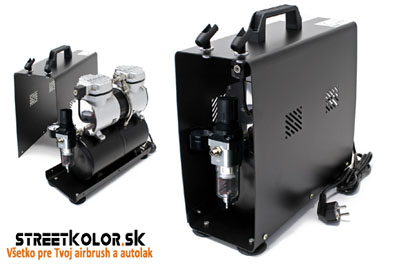 Dvouválcový airbrush kompresor FENGDA ® AS-196A