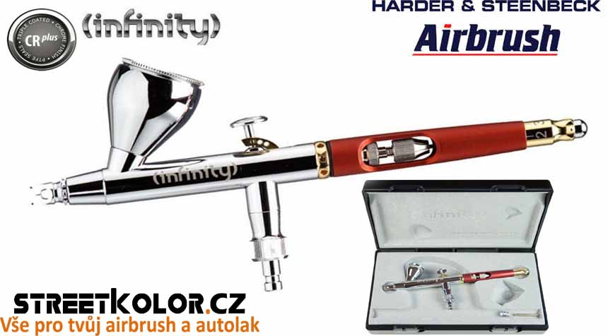 Airbrush stříkací pistole HARDER & STEENBECK Infinity CRplus 0,15 mm