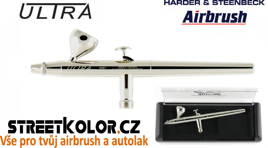 Airbrush stříkací pistole HARDER & STEENBECK ULTRA 0,2 mm